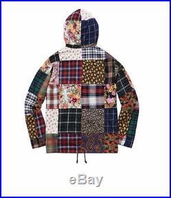 Supreme Patchwork Anorak Jacket Multi Size M Medium Box Logo