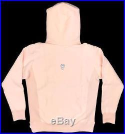 Supreme Peach on White Box Logo Hoodie Sweatshirt FW16