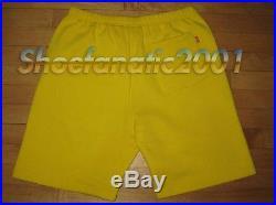 Supreme Playboy Sweatshort Short Medium Yellow Box Logo bunny icon back pocket