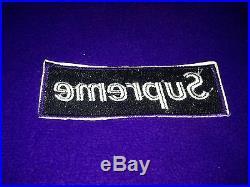 Supreme Purple OG Crewneck Box Logo Size Medium Gucci Paris Shibuya holo vintage