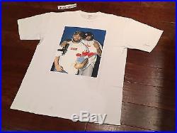 Supreme Raekwon Box Logo Photo T Shirt Sz. XL AUTHENTIC GUARANTEED White Elmo