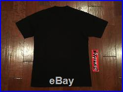 Supreme Raekwon Box Logo Photo T Sz. L -AUTHENTIC GUARANTEED black dipset Elmo