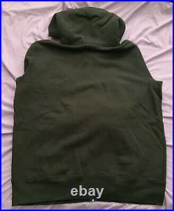 Supreme Reflective 3m Black Small Box Logo Zip Up Sweatshirt Hoodie sz L Large
