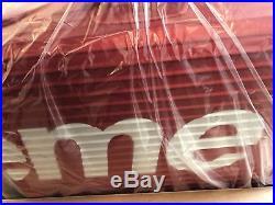 Supreme Rimowa Topas Multiwheel 82 L Red Box Logo Aluminum Suitcase Luggage