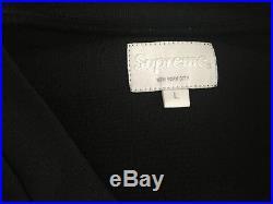 Supreme SS16 Hockey Scrimmage Jersey Black Large L/S Tee Box Logo L Morrissey