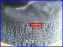 Supreme SS16 Mesh Script Crusher Box Logo Cap Large Classic S Hat BEANIE Camp DS