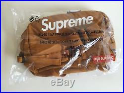 Supreme SS16 Shoulder Bag messenger Backpack box logo CDG Black Red Blue Gold