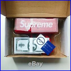 Supreme SS17 Cash Cannon Money Gun Red Box Logo SHIPS NOW