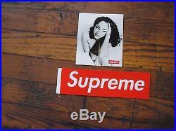 Supreme SS17 Sade Tee Shirt Black BNWT Photo Tee Box Logo Size Large