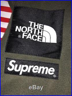Supreme SS17 The North Face Polartec Fleece Jacket (Olive) Box Logo