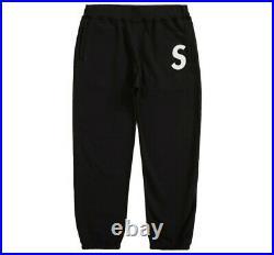 Supreme S Logo Sweatpant (SS20) Black Large S logo Box logo