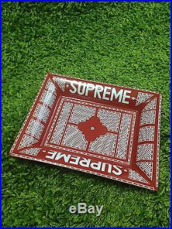Supreme S/S 2012 Ceramic Key Tray Ashtray Box Logo Red