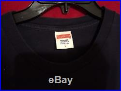Supreme S/S 2013 Dorothy Wizard of the Oz Tee Navy Size Large L Box Logo Shirt