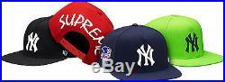 Supreme S/S 2015 New York Yankees'47 Brand 5-Panel Hat Box Logo Camp Cap