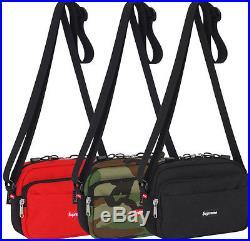 Supreme S/S 2015 Shoulder Bag Box Logo Red Camo Black