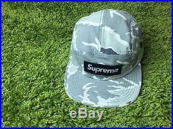 Supreme S/S 2016 Tiger Camo Camp Cap Box Logo Hat