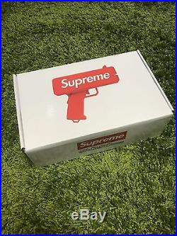 Supreme S/S 2017 Cash Cannon Money Gun Box Logo Red