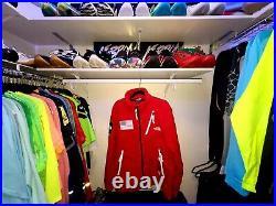 Supreme S/S 2017 The North Face Polartec Fleece Jacket (Red) Box Logo Mens XL