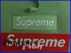 Supreme Sage Box Logo Hoodie M