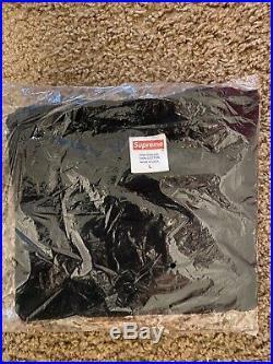 Supreme San Francisco Box Logo Tee Black Size Large New In Bag