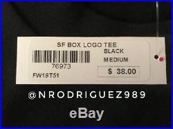 Supreme San Francisco Store Opening Box Logo Tee Size Medium