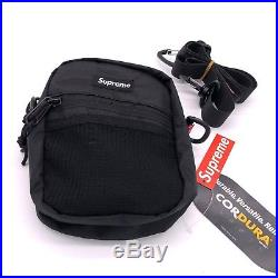 Supreme Shoulder Bag Black SS17 Waist Bag Box Logo Small Backpack Fanny Pack New
