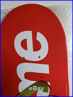 Supreme Skateboard Deck Kermit The Frog Damien Hirst Box Logo Murakami Koons