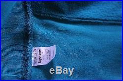 Supreme TEAL BOX LOGO Crewneck Size Medium Hoodie Baby blue paris shibuya