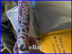 Supreme Takashi Murakami Cøvid Box Logo Tee Medium IN HAND READY TO SHIP