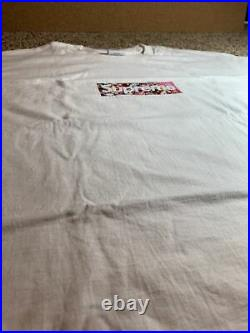 Supreme Takashi Murakami Relief Cov Box Logo Size Medium Brand New No Tags