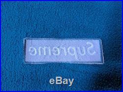 Supreme Teal Box Logo Crewneck Size XLarge