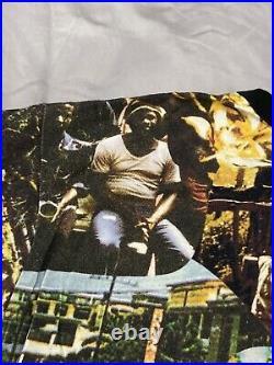 Supreme Tee Shirt Cut N See Box Logo Rare Vintage XL UNDFTD Kith
