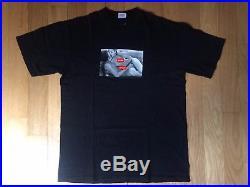 Supreme Teenage Lust T Shirt Black Large Larry Clark Box Logo Photo Gucci Mane