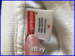 Supreme Tera Patrick Tee sz Medium white 2007 paisley camp cap box logo hoodie