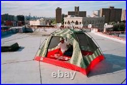 Supreme The North Face TNF Snakeskin Green Stormbreak 3 Taped Seam Tent Box Logo