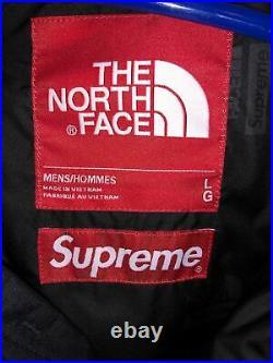 Supreme The North Face X TNF Expedition Jacket Parka Nuptse Milan box logo L