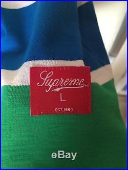 Supreme Thunderbird Jersey L M S XL Box Logo