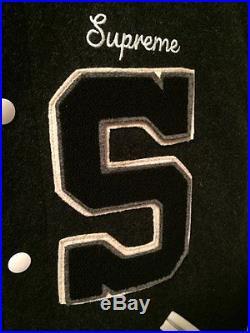 Supreme Tigers Varsity Jacket size M box logo drake wale