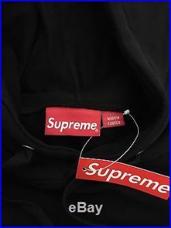 Supreme Tonal Black Box Logo Hoodie