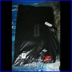 Supreme Tonal Box Logo Hooded Sweatshirt BLACK XL XLarge Brand New DS WITH TAGS