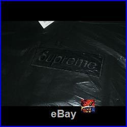 Supreme Tonal Box Logo Hooded Sweatshirt BLACK XL XLarge Brand New Sage Peach
