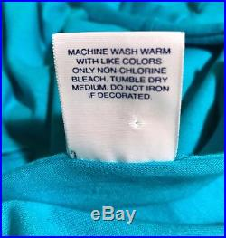 Supreme Tonal Box Logo Long Sleeve Turquoise Blue Large Custom Kmart