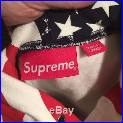 Supreme USA Box Logo Hoodie Large