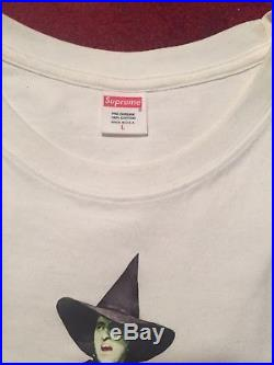 Supreme Undercover SS15 Box Logo Witch Tee White Rare Large