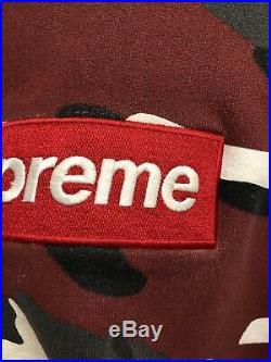 Supreme Urban Camo Box Logo Hoodie 100% Authentic Large
