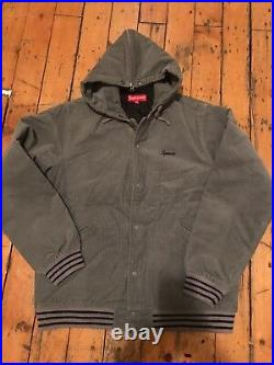 Supreme Varsity Jacket Corduroy Box Logo Kith Vintage Stussy Bomber Nbhd Sz L