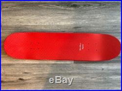 Supreme Vintage Skate Deck Red Logo Print Skateboard Deck Skatedeck Box Logo