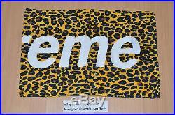 Supreme Vol 5 Leopard Towel Volume Novelty Camo Box Logo Catalog Magazine Beach
