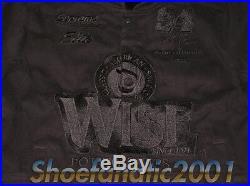 Supreme WISE Potato Chips Varsity Racing Jacket Large Box Logo Air Force NASCAR