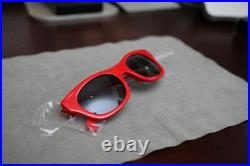 Supreme Wallace Sunglasses 2013 SS13 Vintage Gold Box Logo LV Louis New Red